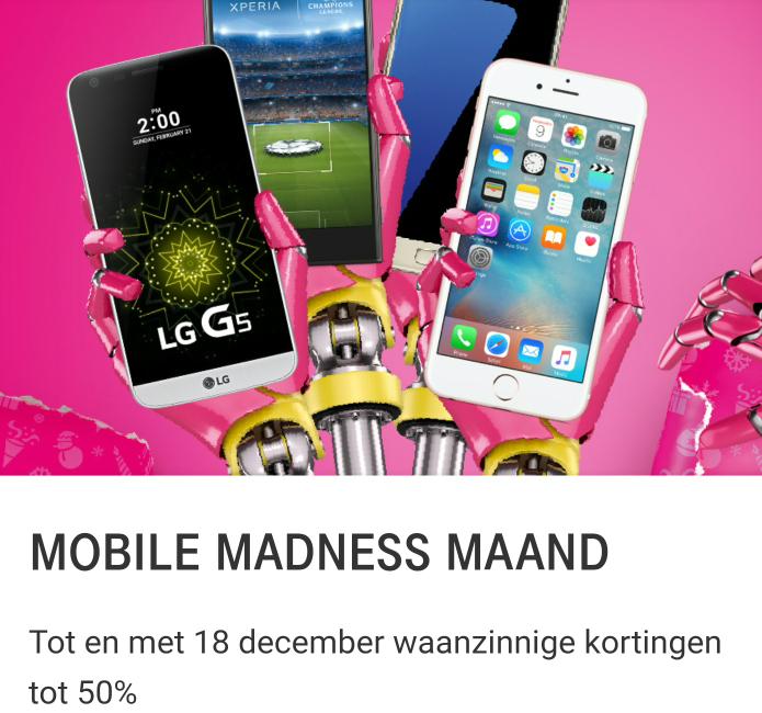 [VERLENGD] T-Mobile 50% korting op de bundel Stel Samen & Stel Bij