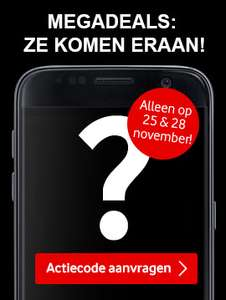 [Black Friday] Megadeals: ze komen eraan @ Vodafone Friends & Family