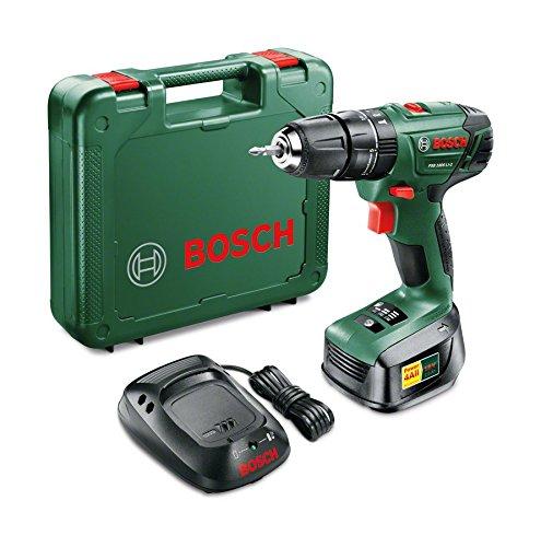 Bosch accuschroefklopboormachine PSB1800LI-2 18V met 2 accus voor 89,55 euro (was 59 euro - 1 accu) @ amazon.co.uk