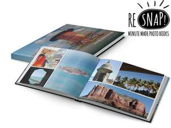 Voucher voor het een fotoboek van 80 pagina's 19,95 @ Ibood