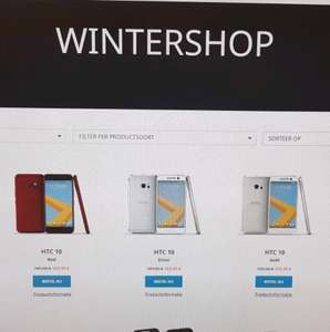 HTC wintershop early acces