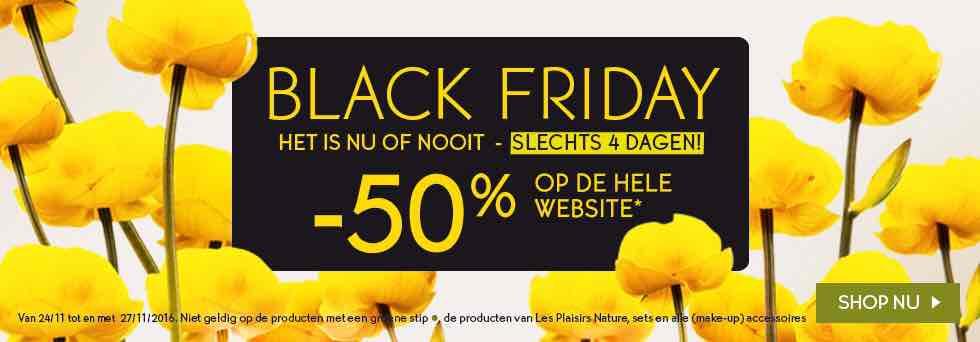 [Black Friday] 50% korting bij Yves rocher