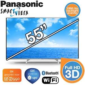 Panasonic  TX AS640 3D Smart-TV | 48-inch voor € 708,90, 55-inch voor € 1108,90 @ iBOOD