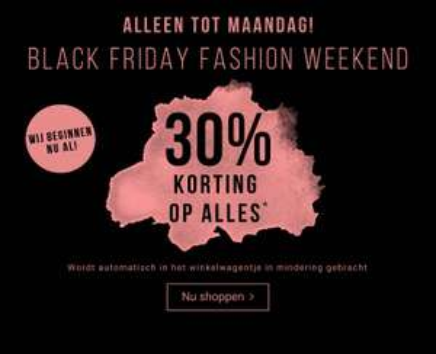 [Black Friday] 30% korting op alles + gratis verzending @ Tom Tailor
