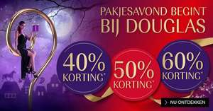 Black friday weekend korting -25% @ douglas