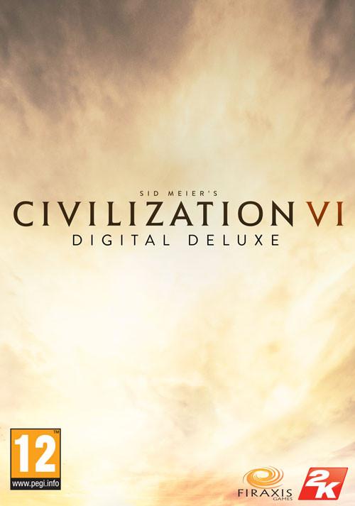[PRIJSFOUT?] Sid Meier's Civilization VI - Digital Deluxe (Steam key) voor €15,99 @ Games Republic