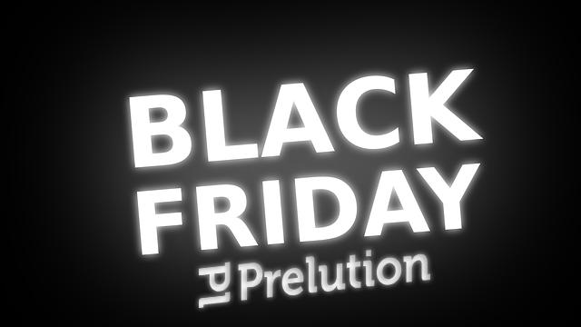 [Black Friday] 50% korting op alles @ Prelution