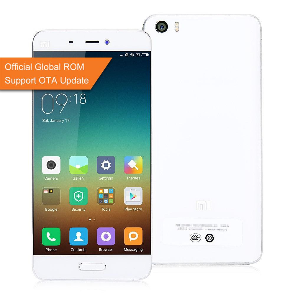 Xiaomi Mi5 3gb/32GB voor EUR 204 @ Geekbuying