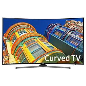 SAMSUNG Curved 4K 55'ich SMART TV met Dell 175 euro cadeaukaart!!!