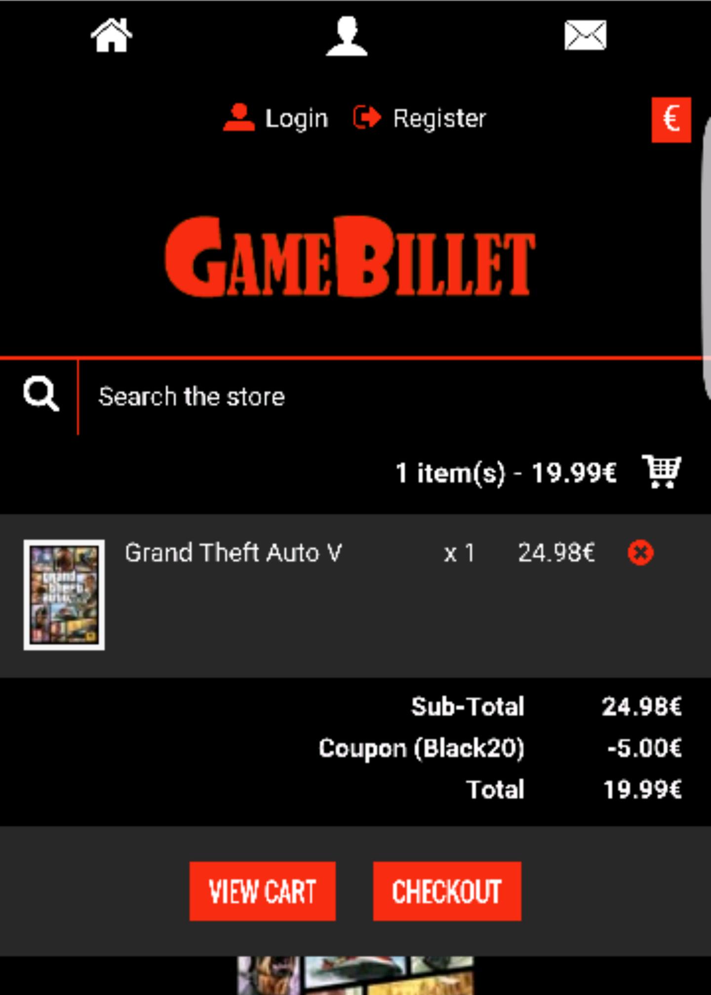 GTA 5 PC   19.99 MET COUPON BLACK 20