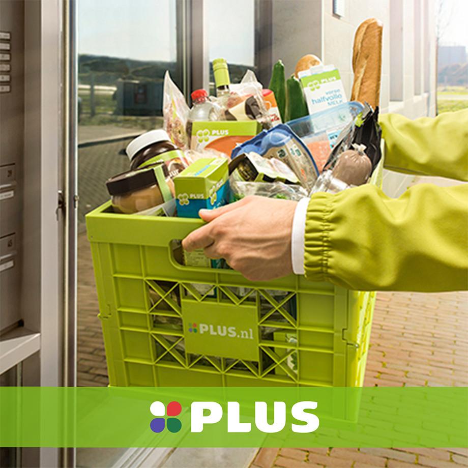 PLUS supermarkt geen bestelkosten @ Eurosparen