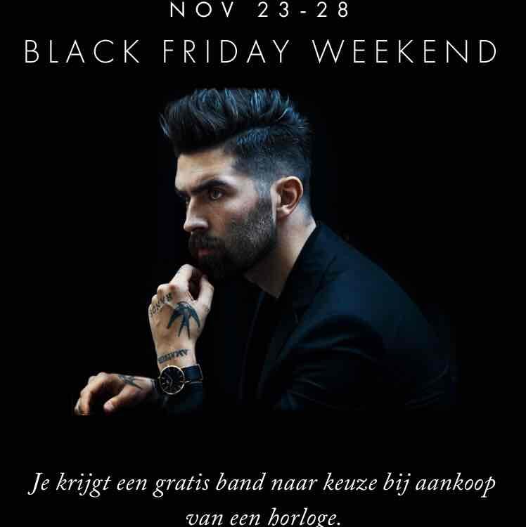 Black Friday bij Daniel Wellington