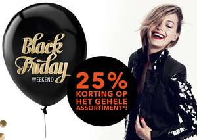 [Black Friday Weekend] 25% korting op het gehele assortiment @ Douglas