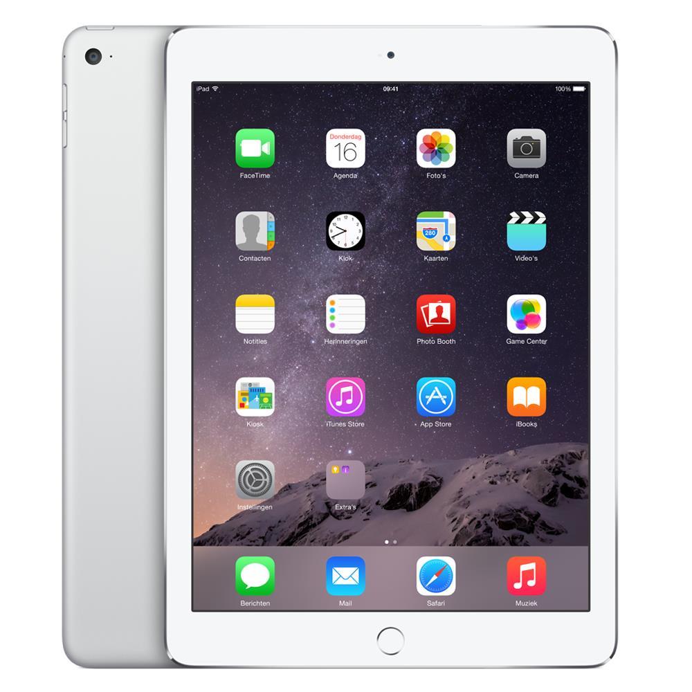 Apple iPad Air 2 Wi-Fi 128GB zilver / Grijs voor €499 @ BCC / Mediamarkt