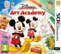 Disney Art Academy (Nintendo 3DS) voor €23,88 @ GameShop Twente