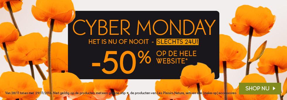 Alles 50% korting + gratis verzending @ Yves Rocher