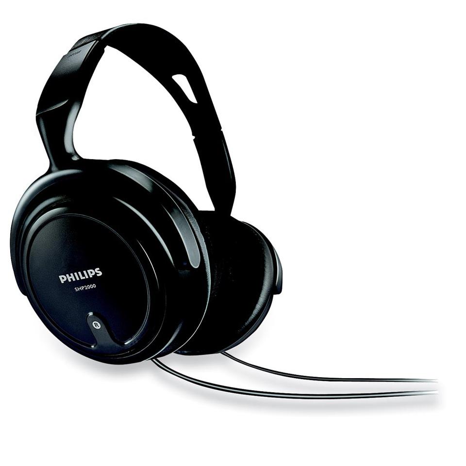 Philips hoofdtelefoon SHP2000 voor €8.49 @ Marskramer