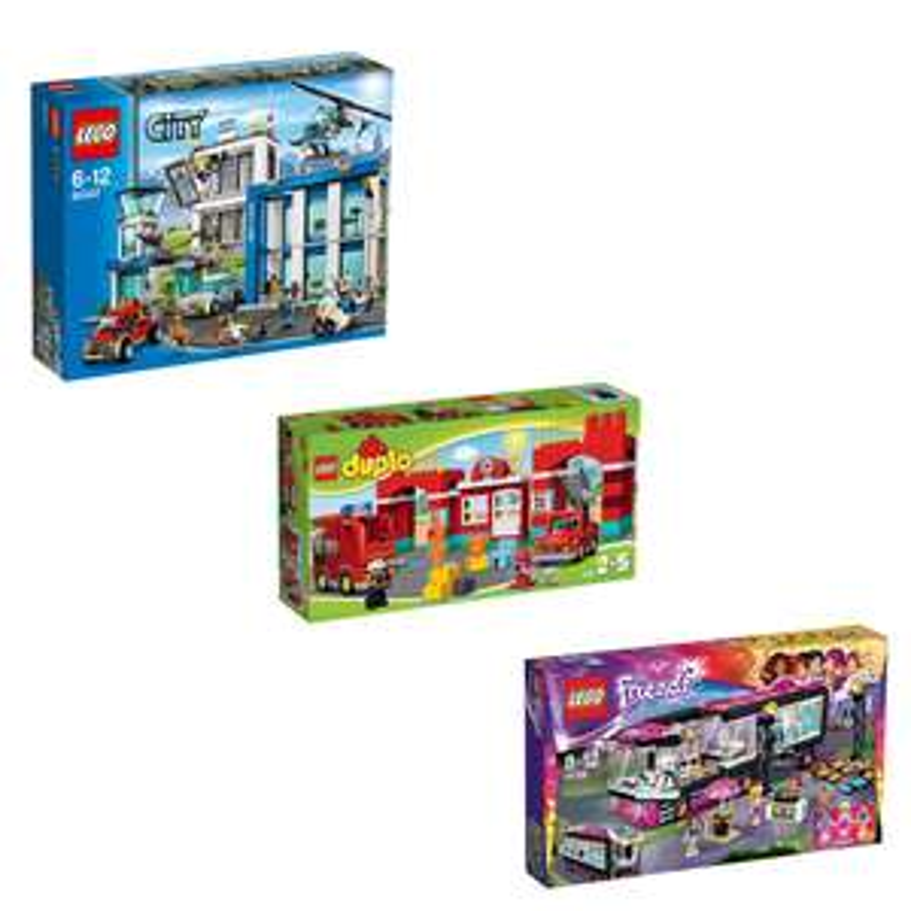 Vandaag 35% korting op 3 LEGO toppers @ Bol.com