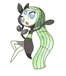 Download gratis de pokémon Meloetta voor Pokémon x/y, or/as.