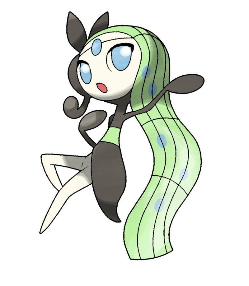 Download gratis de pokémon Meloetta voor Pokémon x/y, or/as.