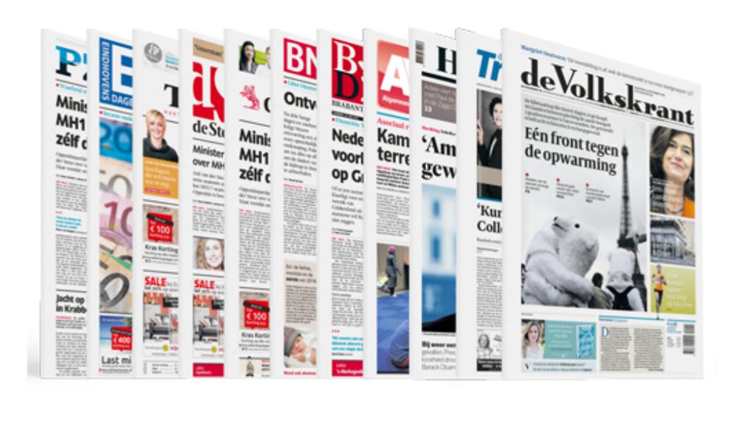 4 weken de Krant voor 4 euro!