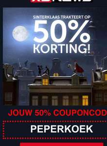 XS News 50% korting op Elite Unlimited Year abonnement.