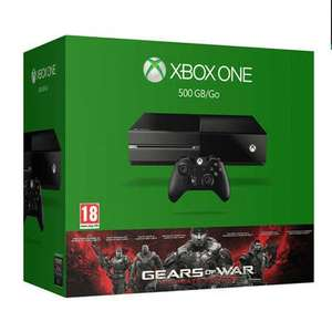Xbox One Console (500 GB) + Gears of War Ultimate Edition voor €194 @ Intertoys
