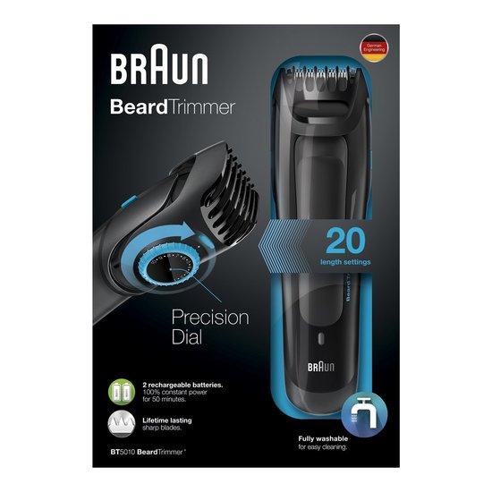 Braun BT5010 baardtrimmer voor €38,10 @ Bol.com