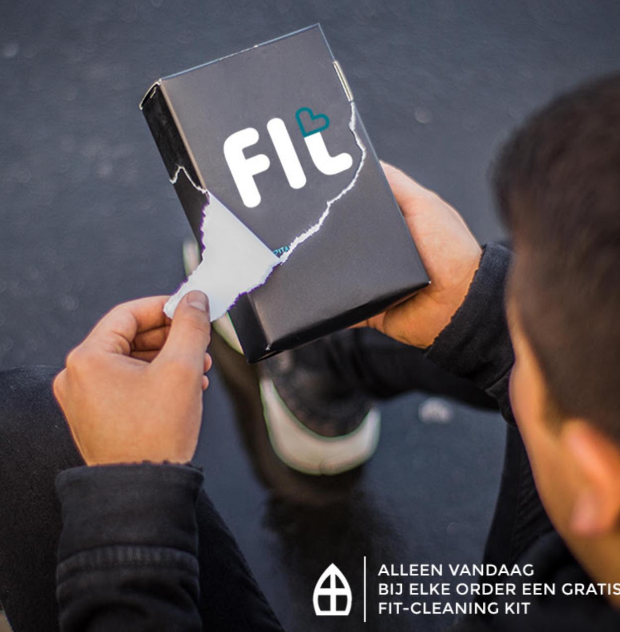 Alleen vandaag bij elke order een gratis FIT-Cleaning Kit t.w.v. €14,95 @ Sneakerbaas