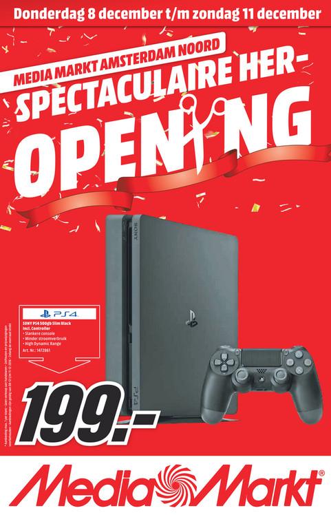PS4 Slim 500GB - MediaMarkt Amsterdam Noord