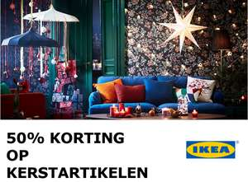 Kerstarikelen 50% korting @ IKEA Haarlem