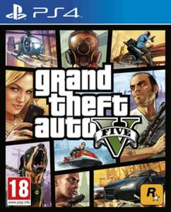 GTA V (PS4/One) + $2.5 mil. Whale Shark Card voor €33 @ Game.co.uk
