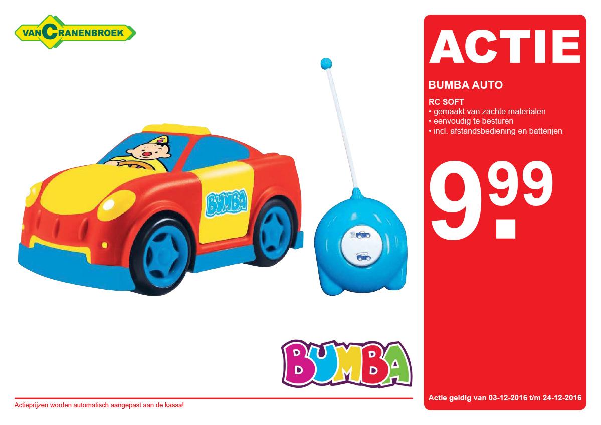 Bumba Soft RC Auto voor €9,99 @Van Cranenbroek