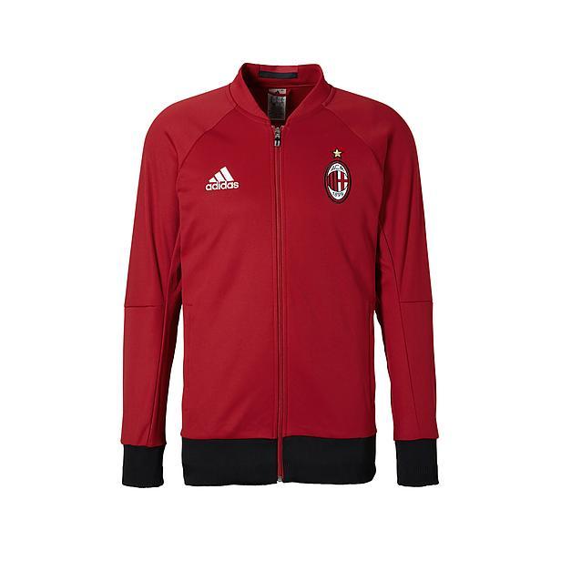 AC Milan Anthem Trainingsjack 2016-2017 voor €17,95 @ Wehkamp