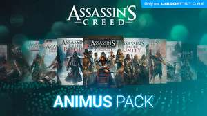 Alle Assassin's Creed delen voor €99 @ Ubisoft Store