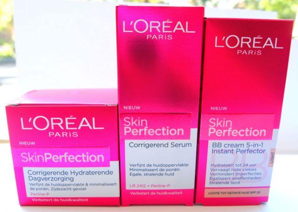 Gratis L'Oreal  Skin Perfection sample