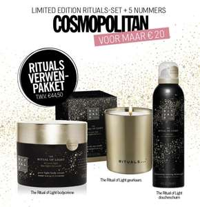 5 x Cosmopolitan + limited edition Rituals-set