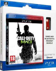 Call of Duty: Modern Warfare 3 (PS3) + 4Gamers Bluetooth Headset CP-BT01 voor €8,39 @ Zavvi