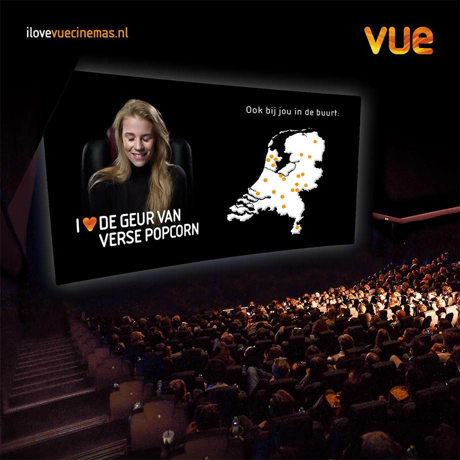 Tot 40% korting naar de (Vue) bioscoop met Eurosparen