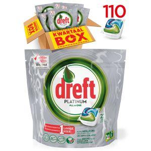 110! Dreft Vaatwastabletten Platinum Drogistplein.nl