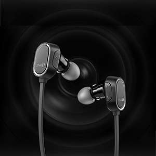 Anker Soundbuds Anker, SoundBuds, sportkoptelefoon, Bluetooth 4.0, halskoord, draadloos, 8 uur speelduur, spatwaterdicht 15,99 @ Amazon.de