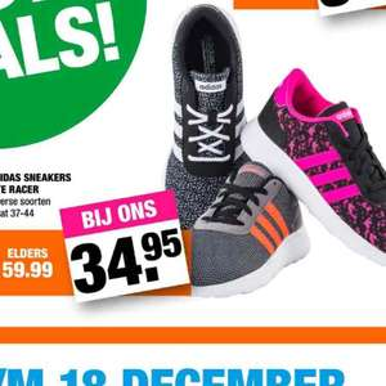 Adidas schoenen voor €34,95 @ Big Bazar