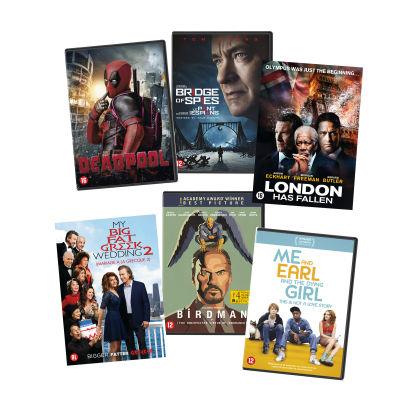 Vanaf 17-12 diverse dvd's bij Aldi