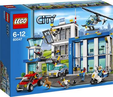 Lego City Politiebureau (60047)  voor €59,99 @ Intertoys