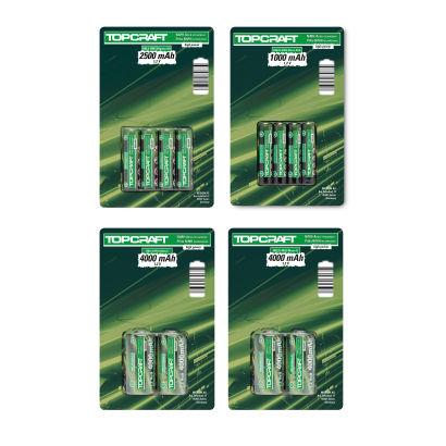 4 x type AA of 8 x type AAA oplaadbare batterijen 2,99 @ Aldi