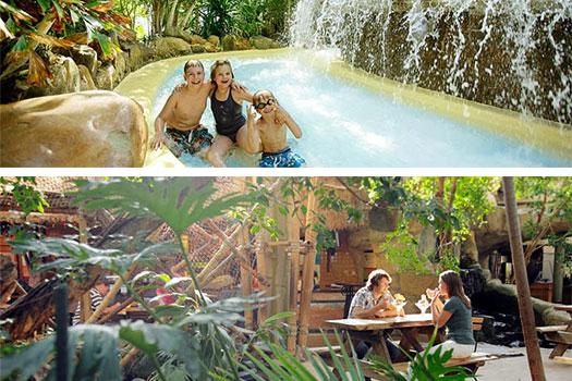 Dagentree Center Parcs 'De Huttenheugte' voor €10,25 p.p @ DeLeuksteDeal