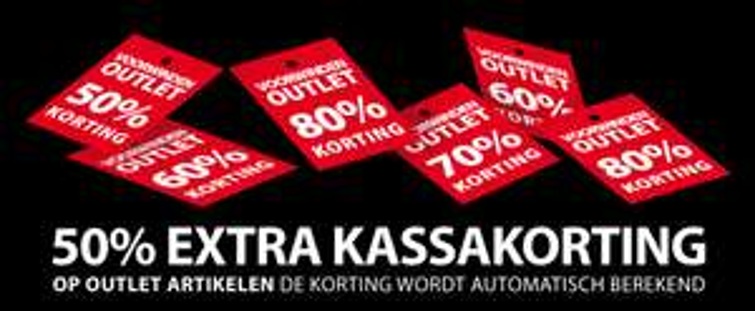 [UPDATE] Outlet: 50% extra korting @ Voorwinden