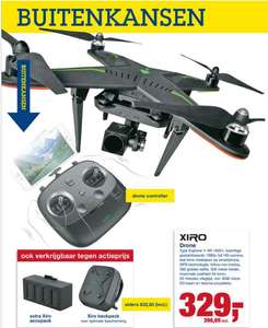 Makro XIRO Xplorer V XR-16001 drone met HD camera 37% korting