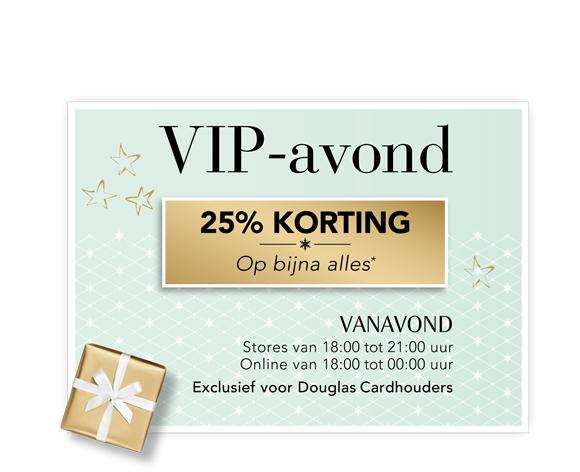 VIP Kortingsavond @ Douglas (alleen vanavond en voor card holders)