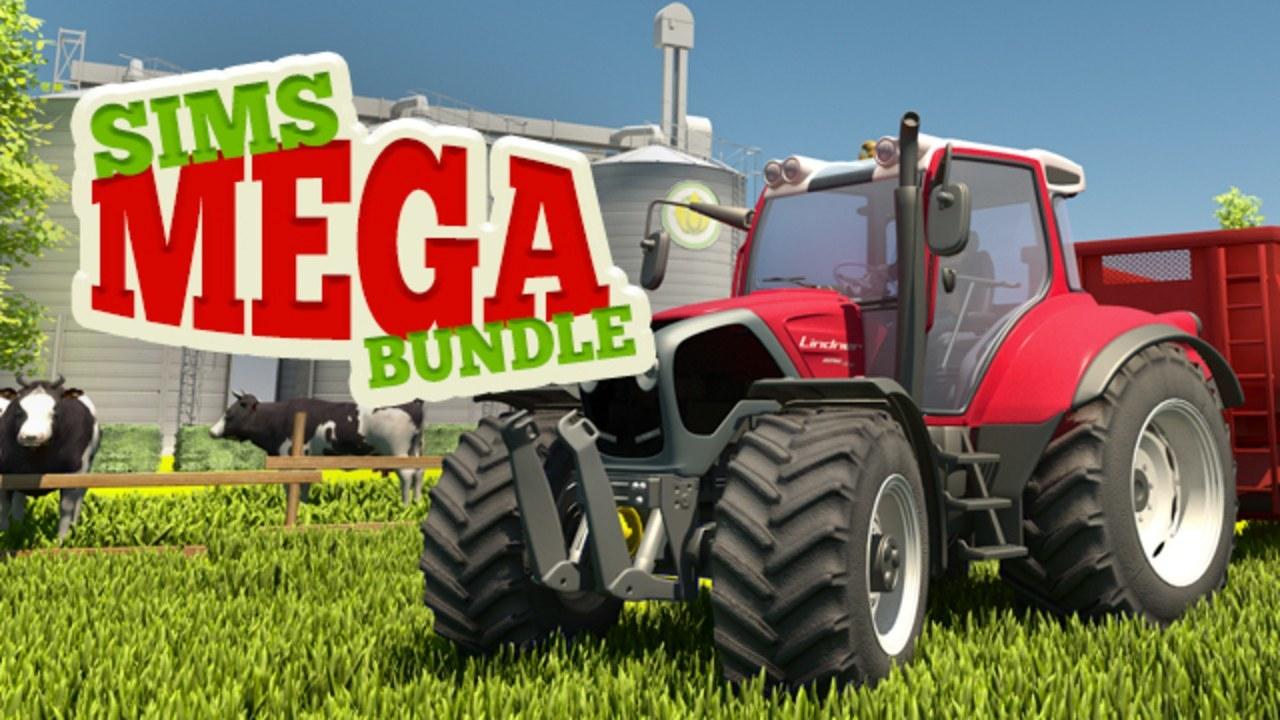 Mega Simulator Pack (8 Games, 3 DLC) Bundlestars PC